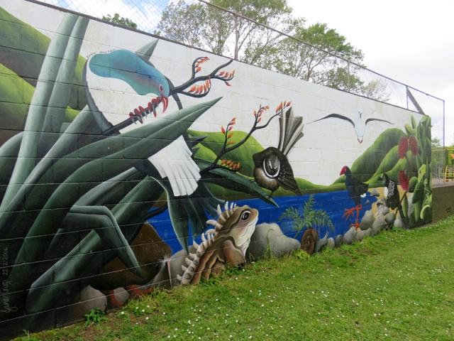 Pukekawa School - Jane Crisp Mural
