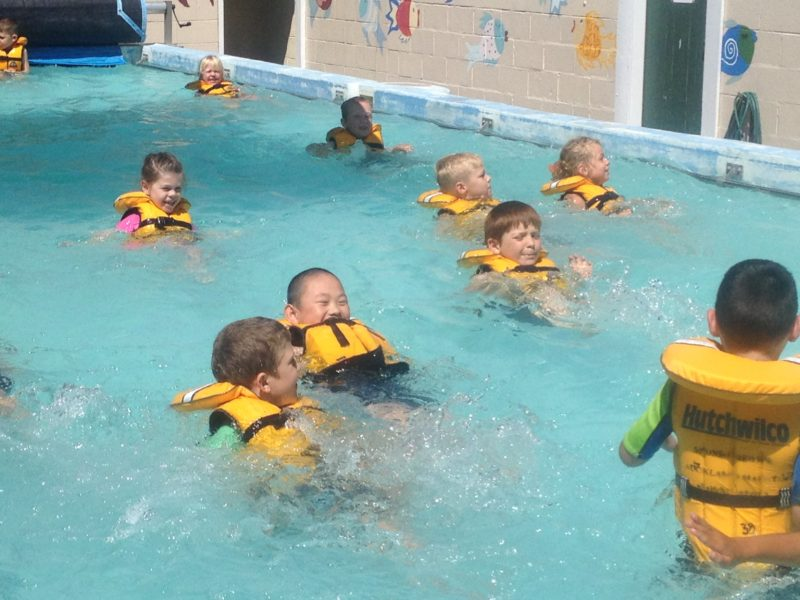 Water Safety Lessons, February 2017